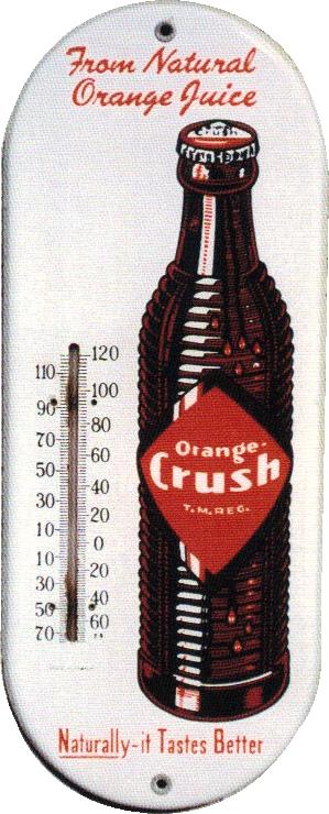 145 Orange Crush Thermometer 1