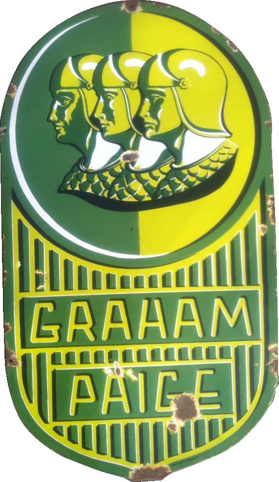 162 Graham Paige Porcelain Sign 1