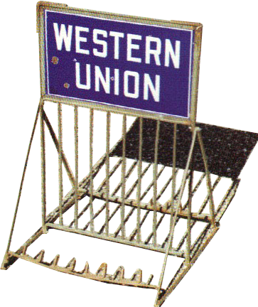 168 Western Union Bicycle Rack 1