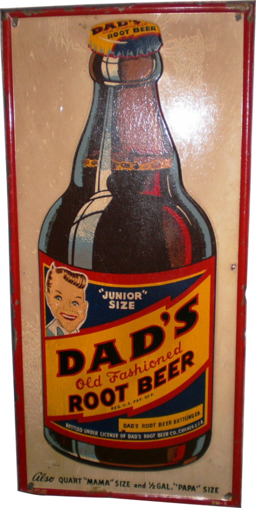 178 Dads Root Beer Porcelain Sign 1 517x1024