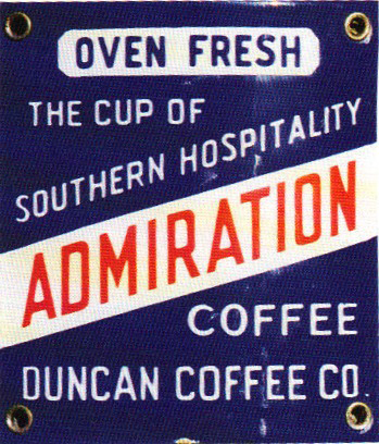 200 Admiration Coffee Porcelain Sign 1