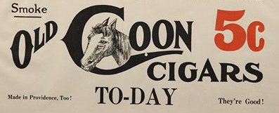 213 Old Coon Cigar Porcelain Sign 1