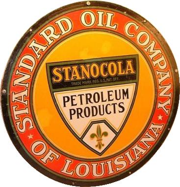 221 Stanocola Standard Oil Company Porcelain Sign 1