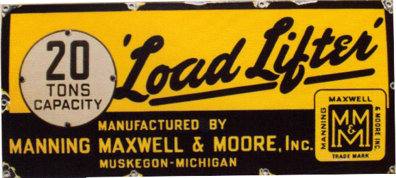 271 Load Lifter Porcelain Sign 1