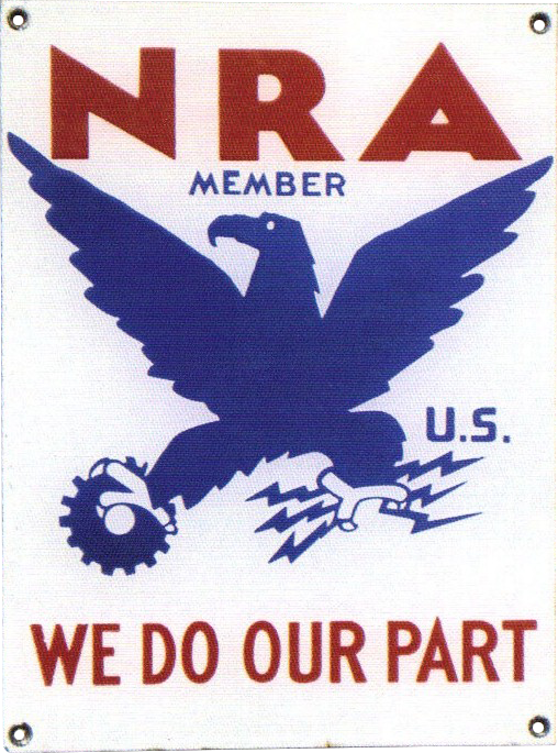 274 NRA Porcelain Sign 1