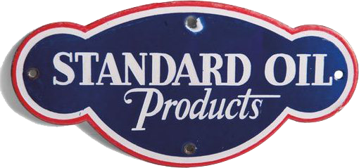 278 Standard Oil Products Porcelain Sign 1