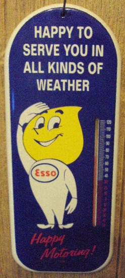 281 Esso Thermometer 1