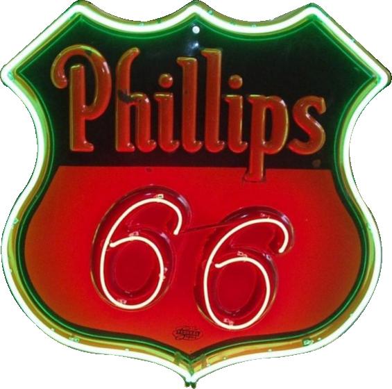 285 Phillips 66 Neon 1