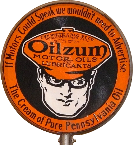 37 Oilzum Motor Oil Lollipop Sign 1