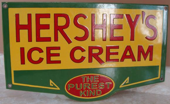 44 Hersheys Ice Cream Porcelain Sign