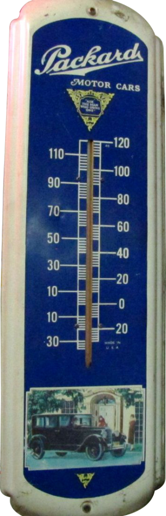 68 Packard Motor Cars Thermometer 1 330x1024