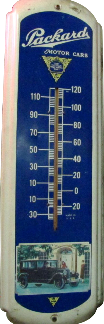 68 Packard Motor Cars Thermometer 1