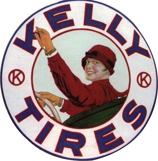 87 Kelly Tires Porcelain Sign 2